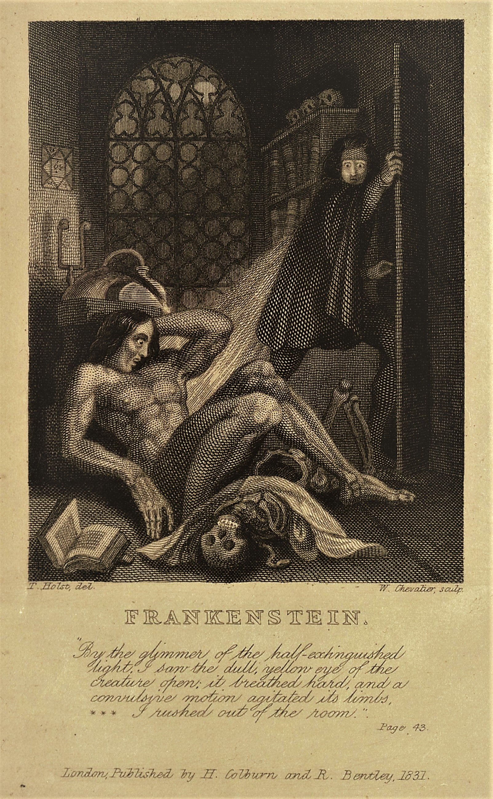 the unjust isolation of frankensteins creation in mary shelleys frankenstein Bride of frankenstein william faulkner mary wollstonecraft shelley  to the impositions of an unjust and  growing sense of isolation and.