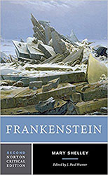 Frankenstein, Norton Critical Edition, 2012